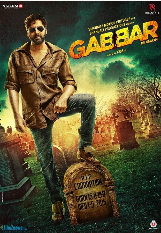 Gabbar Is Back (2015) New Poster 1