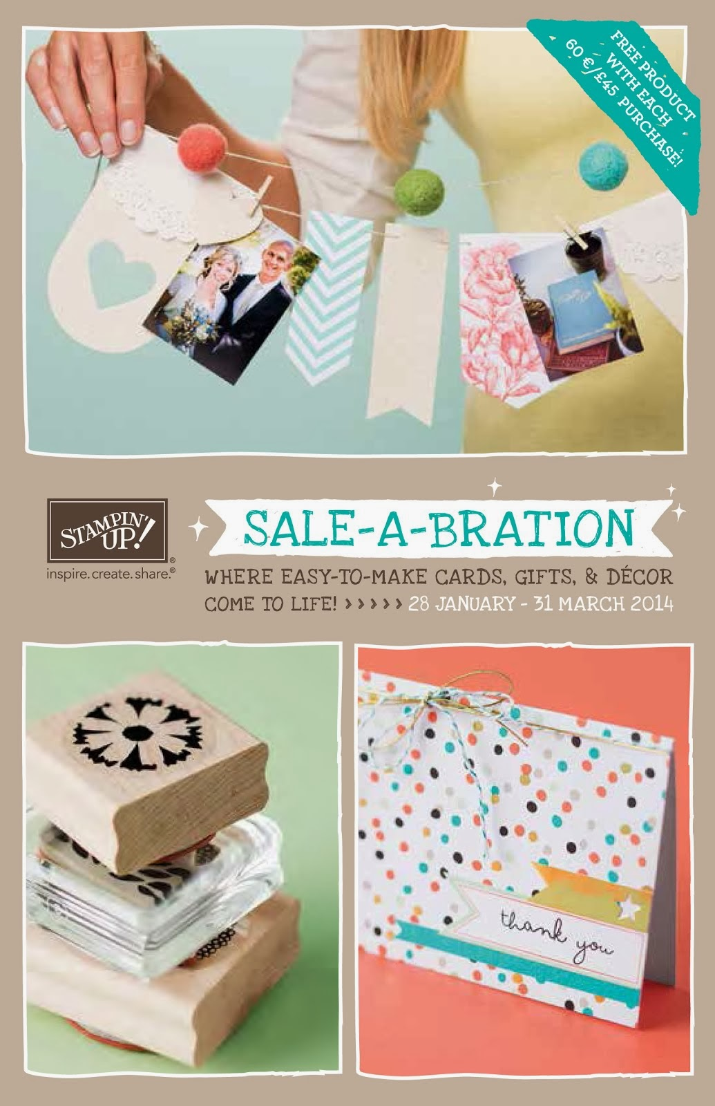 Sale-A-Bration 2014 is HERE!