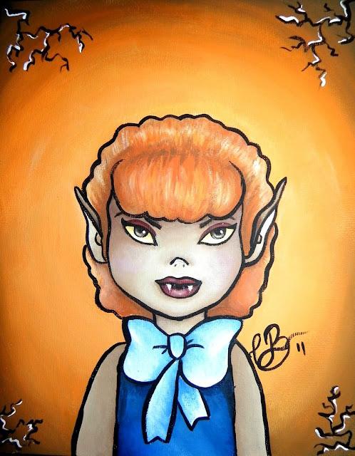 ghoul school Winnie por Coco-cha