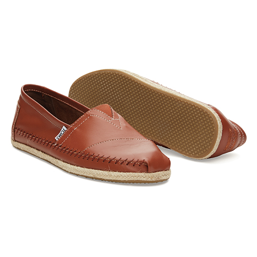 Classic Leather Cognac Shoes