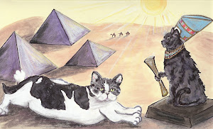 Gatos gone Giza