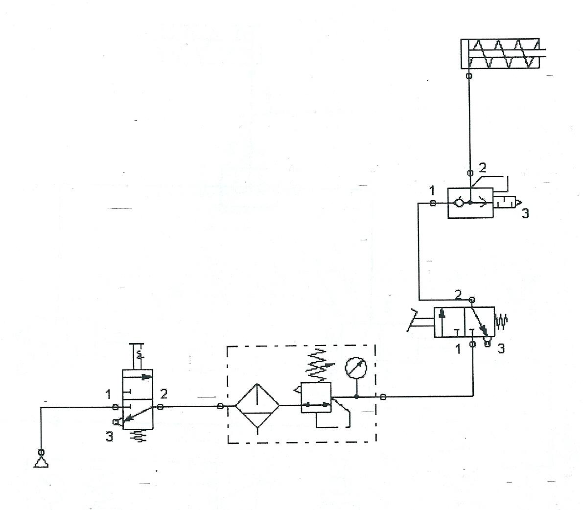 Circuito Neumatico Basico : Circuitos de fluidos suspensiÓn y direcciÓn: circuitos neumáticos e