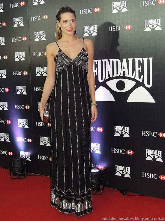 Vestidos de fiesta verano 2015 Gala Fundaleu.