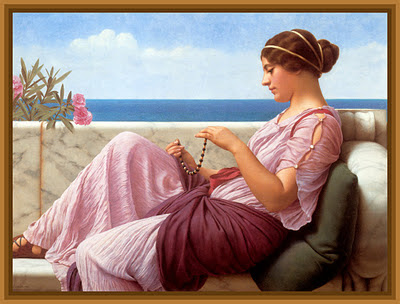 damas antiguas de John William Godward