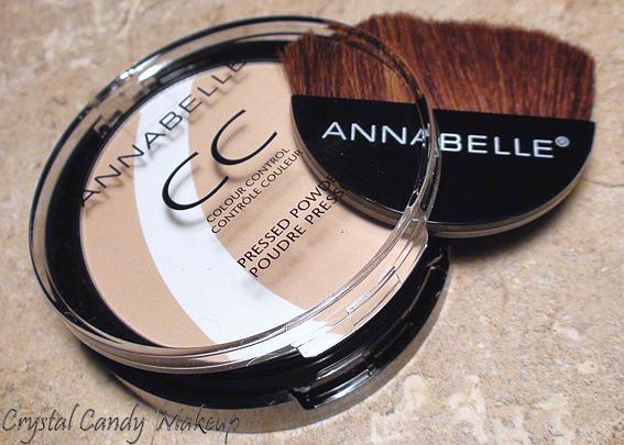 Poudre pressée Contrôle Couleur CC d'Annabelle - Colour Control Pressed Powder
