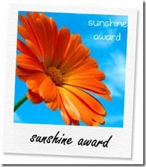 Sunshine Award yang diterima Coretan Gaptek