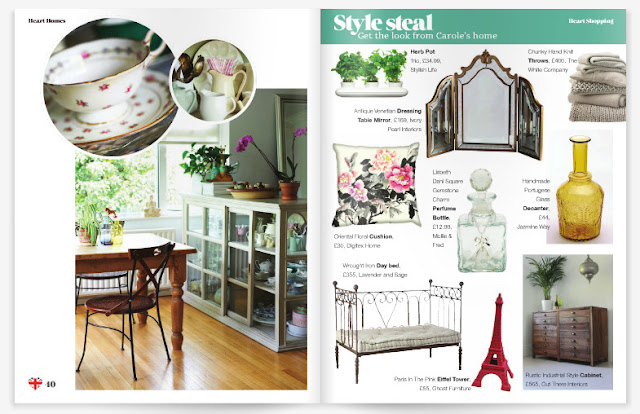 ghost furniture in heart home magazine