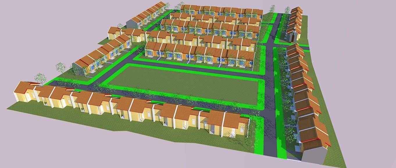 Site Plan Rumah Sederhana