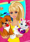 Барби Уход за животными - Онлайн игра для девочек