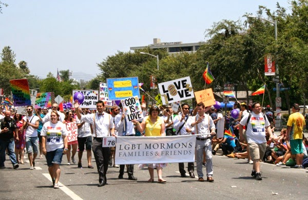 LGBT Mormons West Hollywood Pride Parade 2014