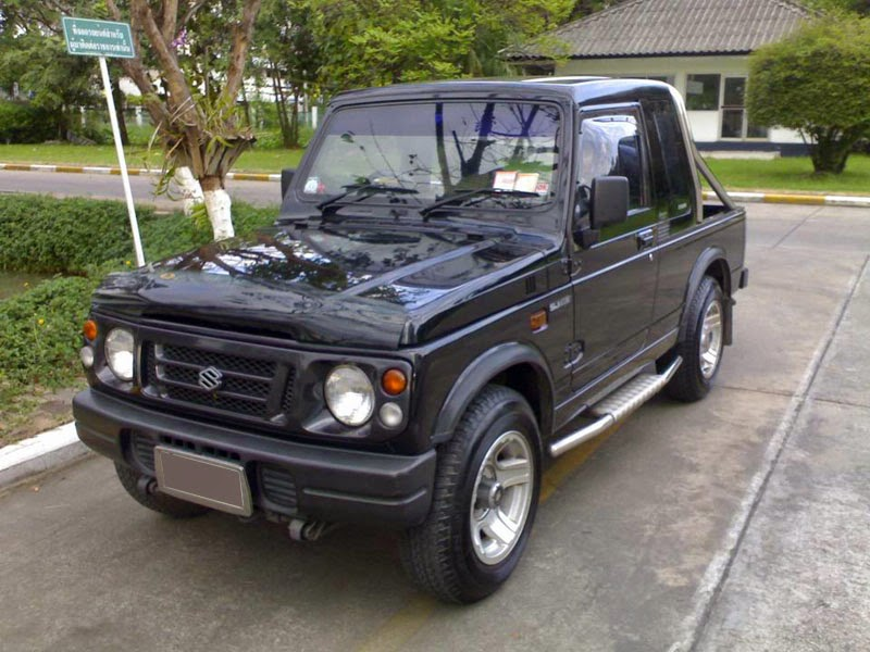 modifikasi mobil suzuki jimny caribian