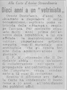 GIORNALE TORINESE DEL 14 LUGLIO 1945