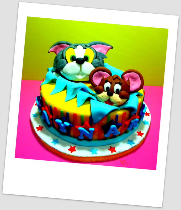 Tom And Jerry Birthday Cake Singapore