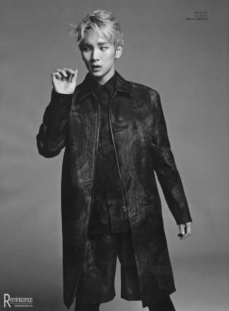 SHINee for L'Officiel Hommes Korea March 2013