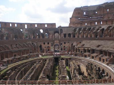 Bekas peninggalan sejarah romawi kuno
