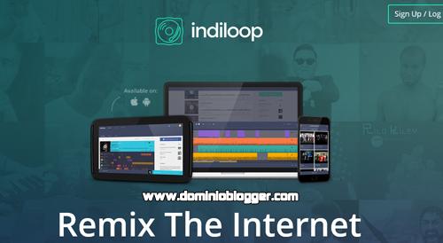 Crea mezclas y remix desde tu navegador Chrome con Indiloop