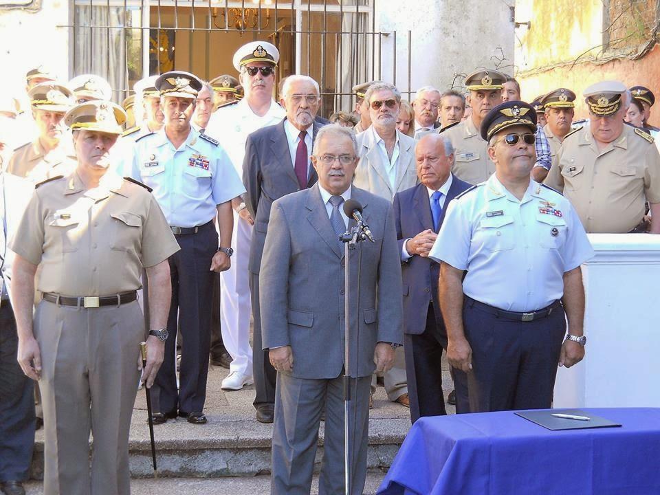 Acto de relevo del Presidente del Instituto Antártico Uruguayo - 11-3-2014