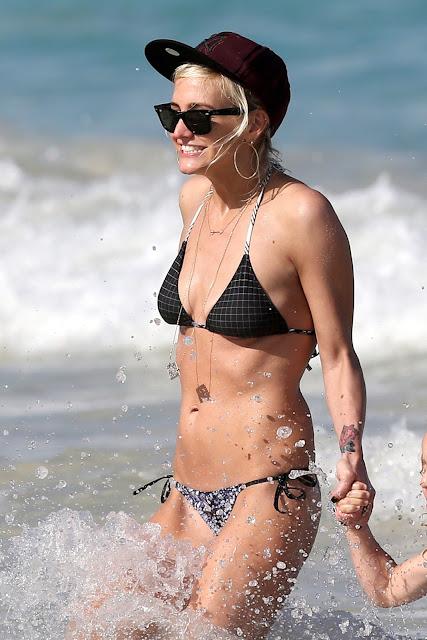 Ashlee Simpson  in Bikini