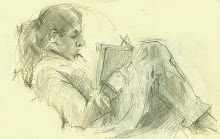 Olivia Reading The DaVinci Code