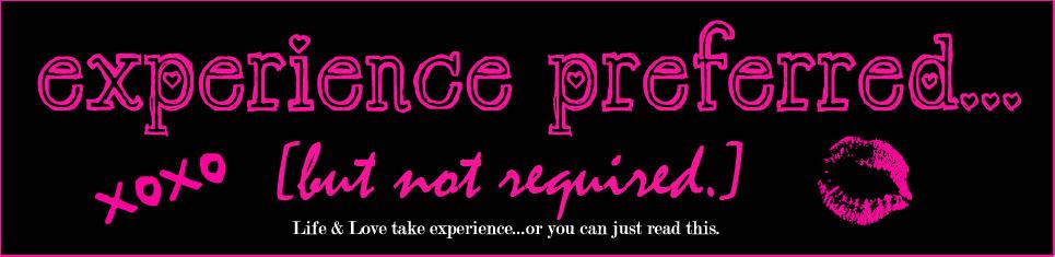 Experience Preferred