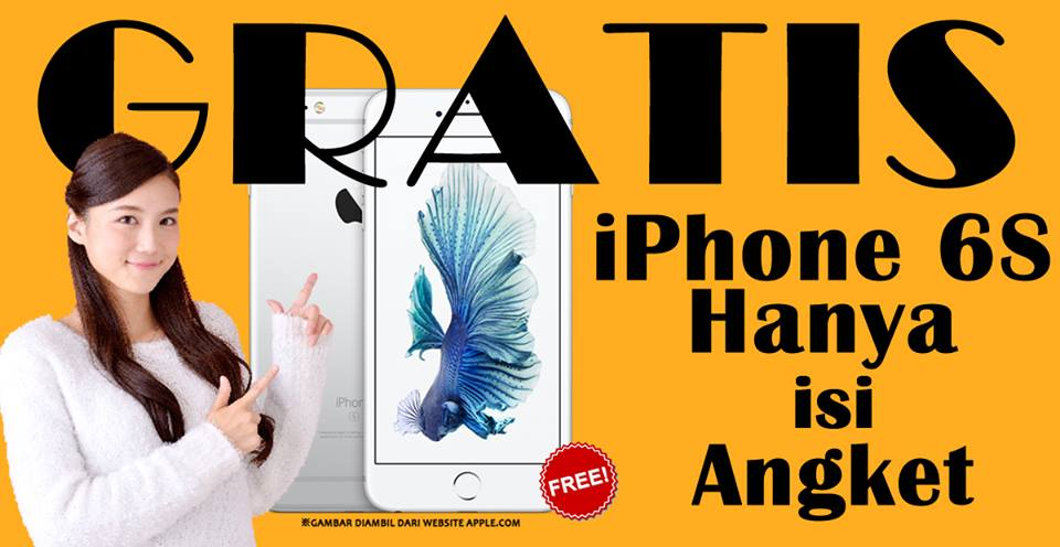 Gratis Iphone 6S