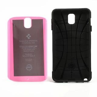 Slim Armor Case for Samsung Galaxy Note 3 N9000 N9002 N9005 - Pink