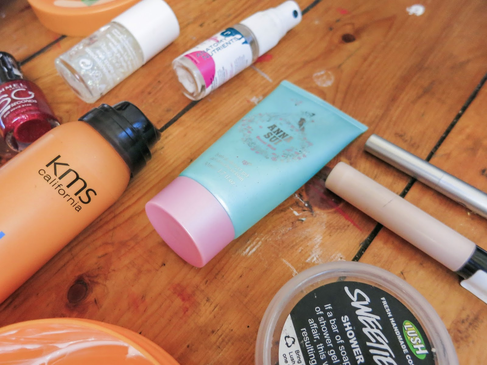 beauty empties makeup skincare hair care