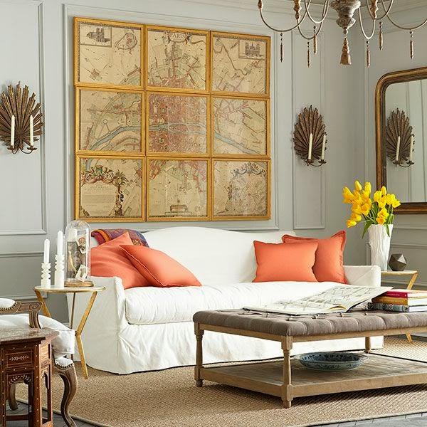 Design Megillah Art Over The Sofa