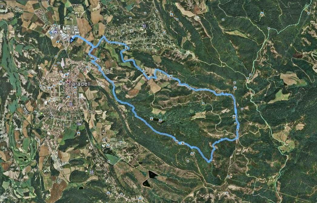 Recorregut: Taradell-L'Enclusa-Castell de Taradell