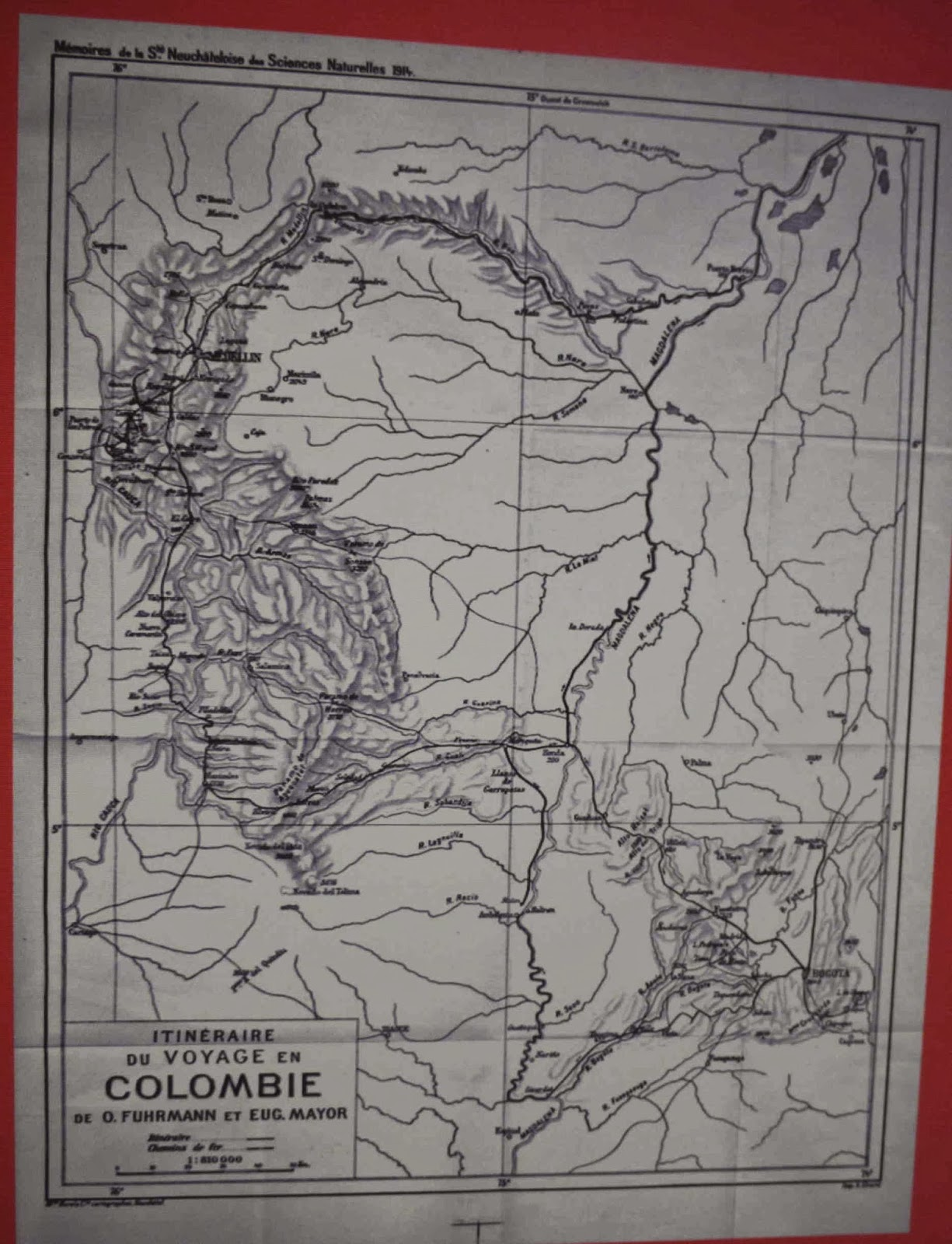 Mikes Bogota Blog The Helvetic Expedition And The Swiss In Colombia - Map us embassy bogota