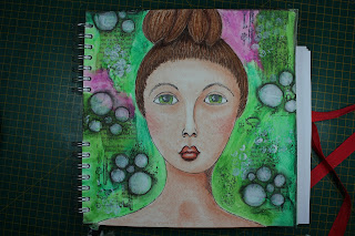 Mijn nieuwe Messy Mixed Media projects blog.