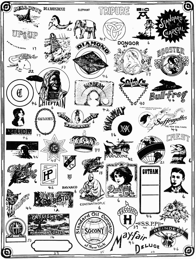 Trademarks from the early 20th Century