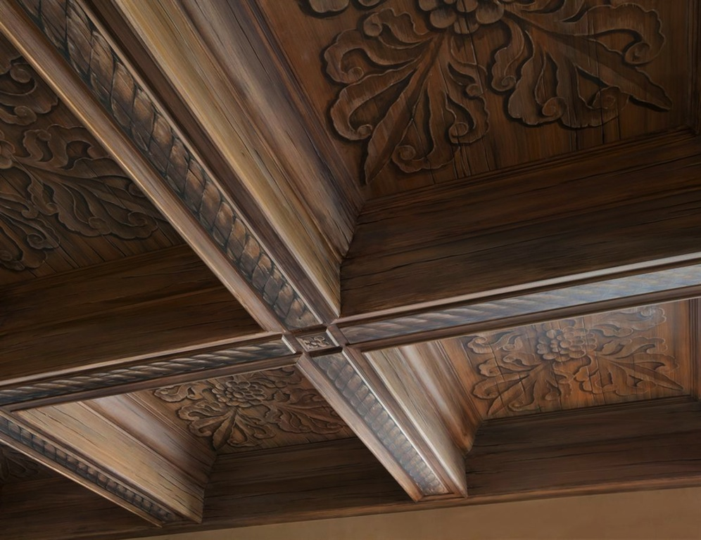 Old world gothic and victorian interior design for Victorian woodwork