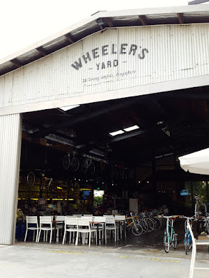 Hipster Cafe in Balestier, the Wheeler's Yard