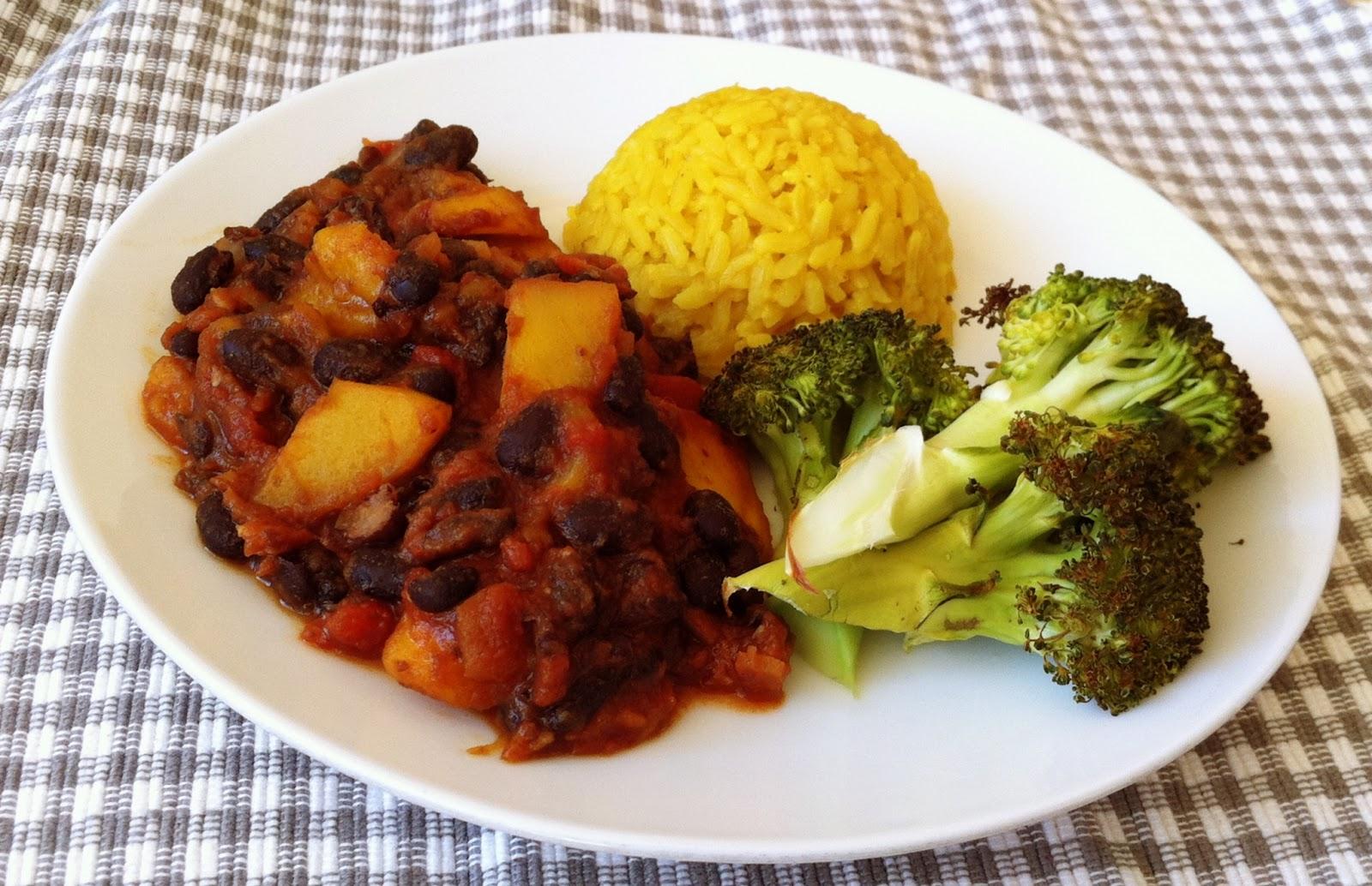 De plantaardige keuken: zwarte bonen met mango & een vleugje bbq