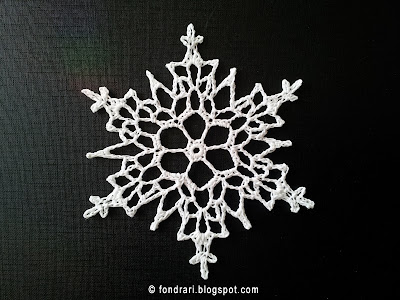 Columbia Point Snowflake