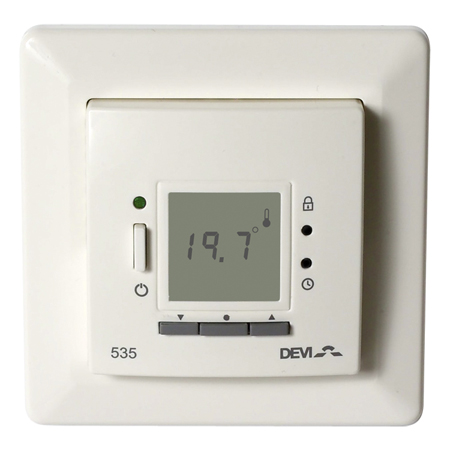 DEVIreg 535 thermostat for regulating the DEVImat