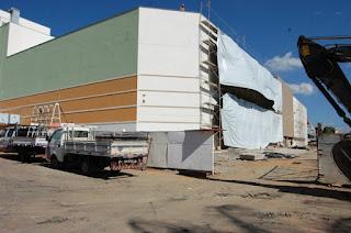 Obras do Cariri Shopping, foto site Veja Juazeiro.