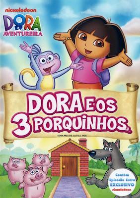 Dora A Aventureira: Dora e Os 3 Porquinhos - DVDRip Dublado
