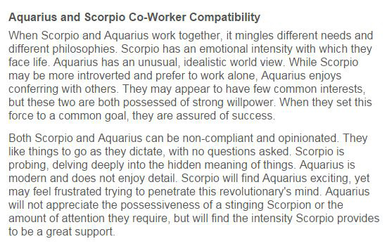 Are Scorpios And Aquarius Good Together