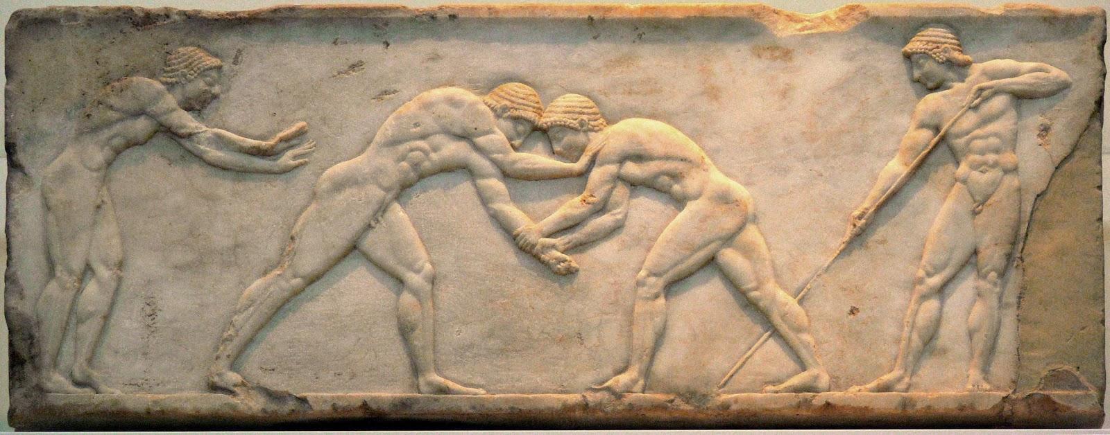 Οι αρχαίοι Ολυμπιακοί Αγώνες (εκπομπή)