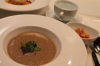 Mushroom Soup with truffles