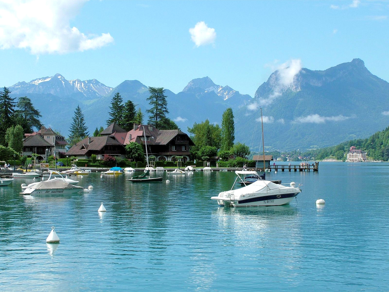 Lake Annecy near the borders of France, Switzerland and Italy offers a holiday on the water without the hoards of tourists.
