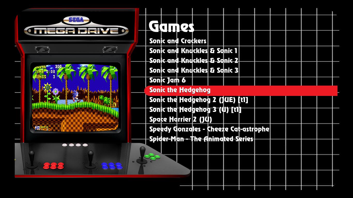 maximus arcade frontend download