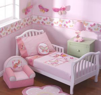 Butterfly Toddler Beds For Girls