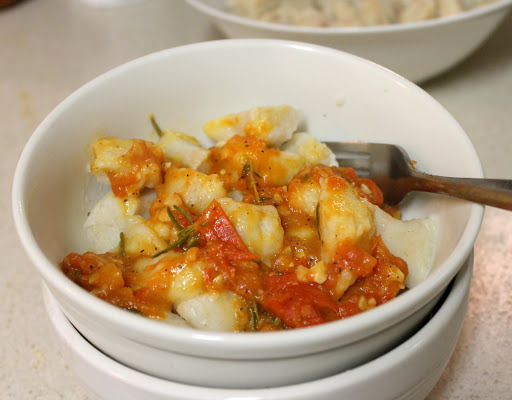 Homemade Gnocchi with Tomato Sauce - Food, Pleasure, and Health