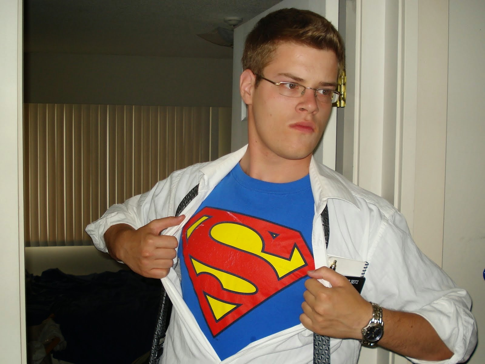 Yes! I am Superman!