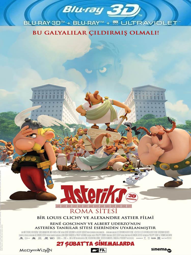 Asteriks: Roma Sitesi (2014) 3D Film indir