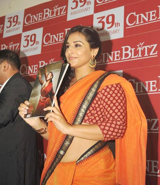 Bollywood Actress Vidya Balan Latest Saree Photos