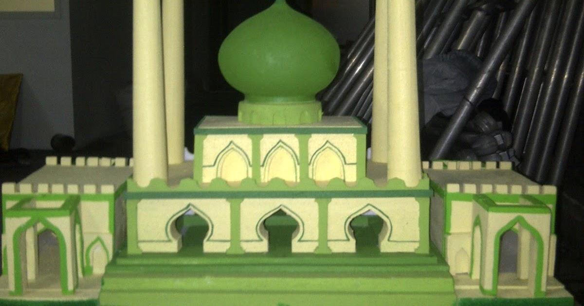 92 Foto Gambar Masjid Styrofoam Terlihat Cantik